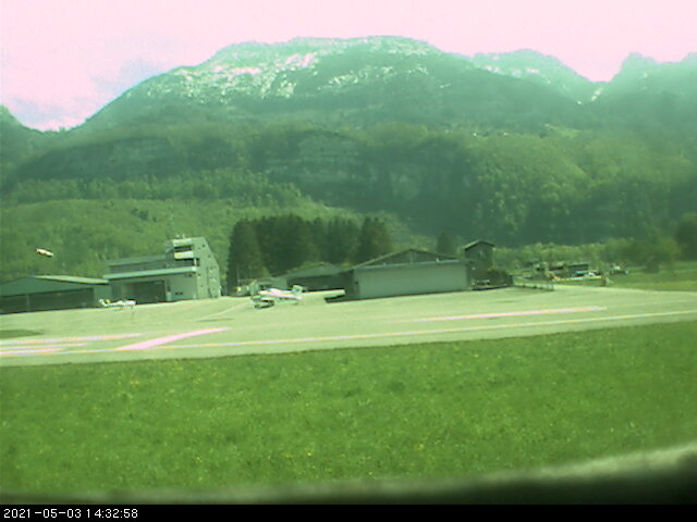 Webcam Flugplatz Hohenems Dornbirn